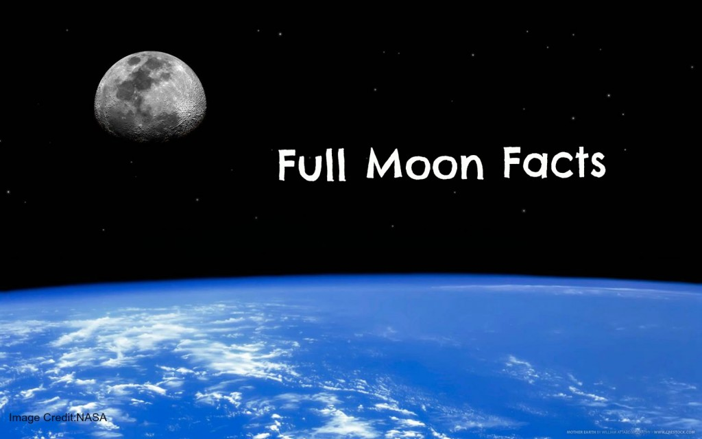 Things you didn't know about tonight's full moon! — S Y Palmer