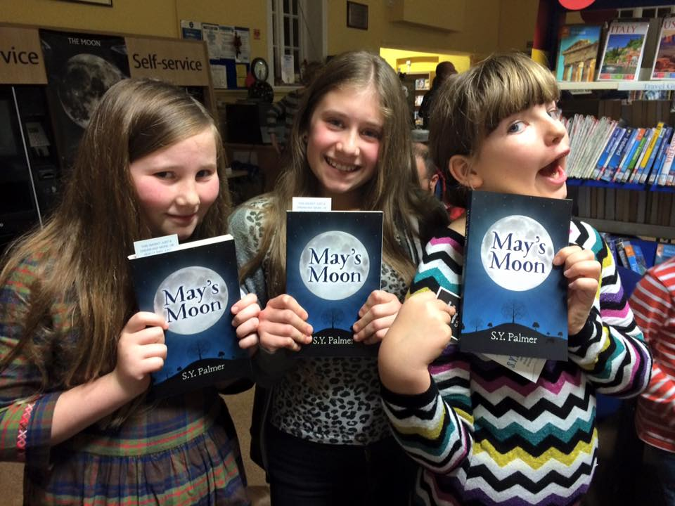LAUNCH DAY FOR MAY'S MOON! — S Y Palmer