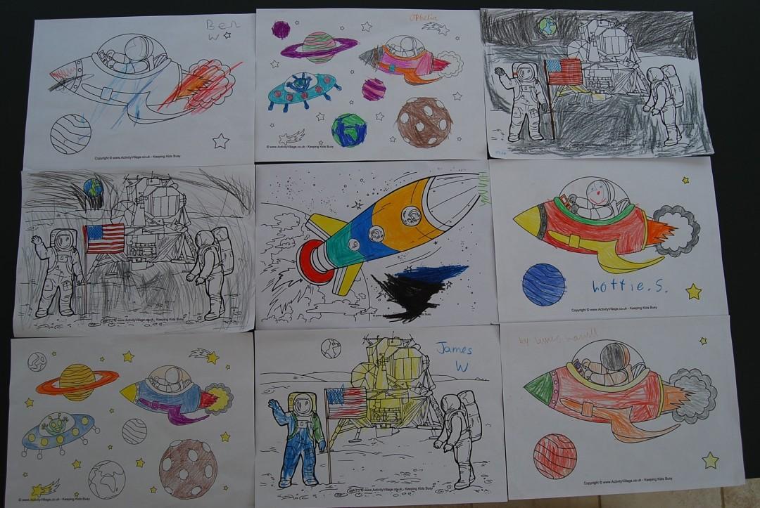 World Book Week Space Fun! — S Y Palmer