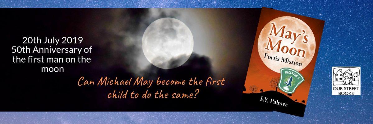 Moon landing, May's Moon