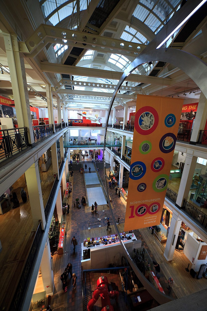 London Science_Museum_-_East_Hall_2390