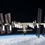 International Space Station in Orbit.